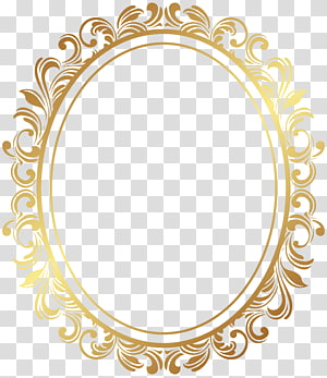 frame, Oval Border Deco Frame , oval gold ornate frame PNG clipart