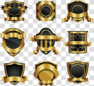 metal shield PNG clipart