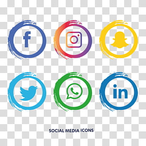 social media icons logo, Social media Computer Icons , social media PNG