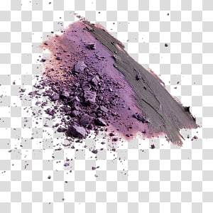 purple powder, Purple , Purple Cosmetic Powder PNG clipart