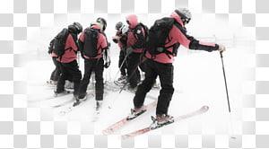 Ski mountaineering Ski Bindings Skiing Ski Poles Ski patrol, snow slopes PNG