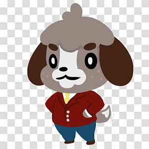 Puppy Animal Crossing: New Leaf Dog Fan art , puppy PNG