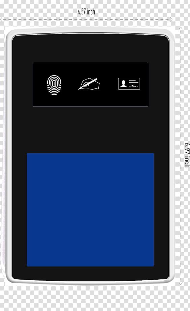 Fingerabdruckscanner scanner Handheld Devices Multimedia Text, mobile life PNG