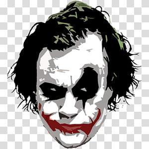 Joker Batman Two-Face Art, joker PNG clipart