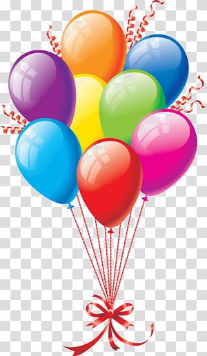 Birthday cake Balloon Wish , Birthday PNG clipart