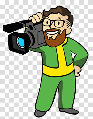 Camera Operator Fallout 4 Video game, Vault Boy PNG clipart