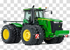 John Deere Tractor Combine Harvester Agricultural machinery Plough, tractor PNG