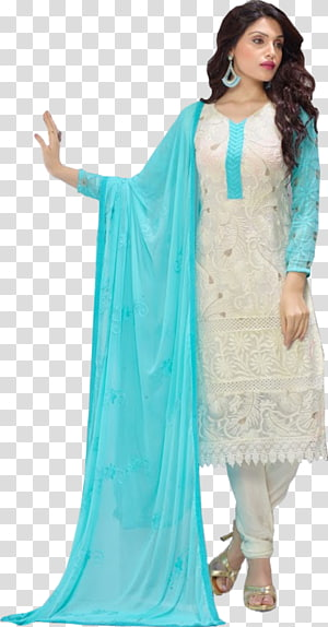 Shalwar kameez Chiffon Dress Formal wear Suit, dress PNG