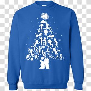 T-shirt Christmas jumper Sweater Hoodie, T-shirt PNG
