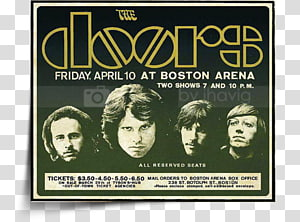 Live in Boston The Doors Live Album Live in New York, Jim morrison PNG clipart