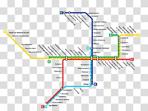Rapid transit Rotterdam Metro Schiedam Bus, bus PNG