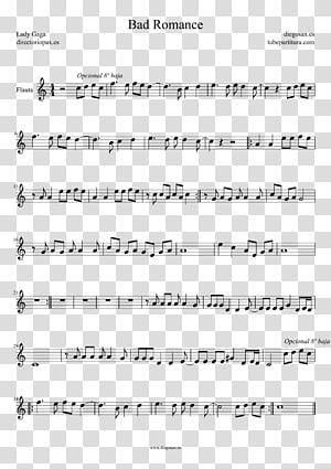 Sheet Music Flute Saxophone Violin, sheet music PNG clipart
