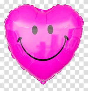 Heart Smiley Emoticon Toy balloon Symbol, ballon PNG