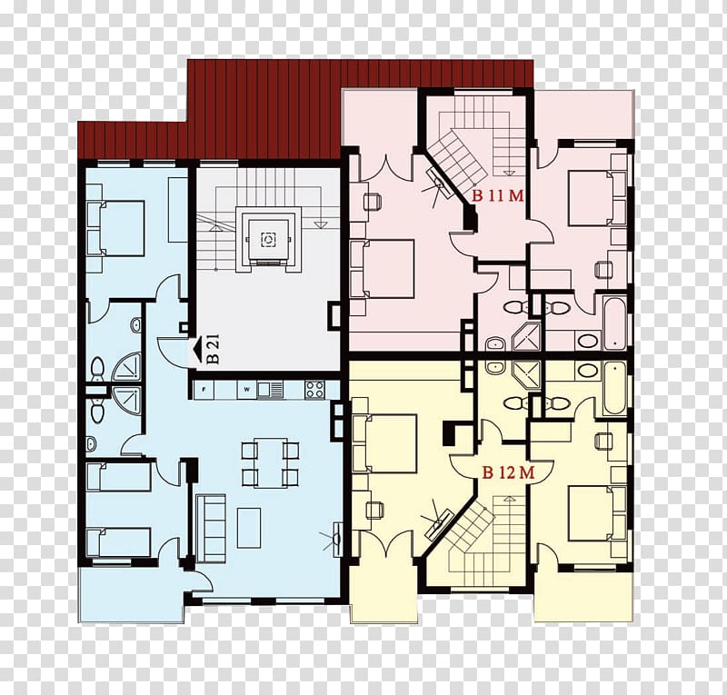 Penthouse apartment Building Real Estate Studio apartment ...