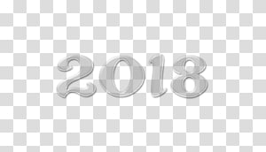 Brand Logo Number, new year; 2018 PNG clipart