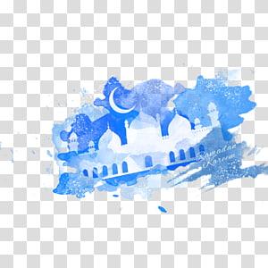 Mosque Ramadan Moon Eid al-Fitr Eid Mubarak, Ramadan PNG clipart