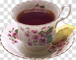 Teacup Coffee Green tea Assam tea, tea PNG