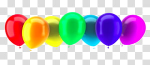 New Year\'s Day Balloon New Year\'s Eve , Balloons in a row PNG clipart