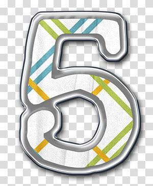Number Symbol Numerical digit, Number 5 PNG clipart