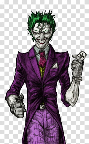 Joker Harley Quinn Batman YouTube Supervillain, joker PNG clipart