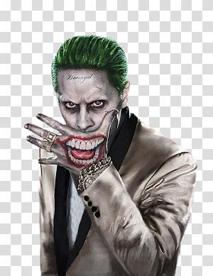 Suicide Squad The Joker illustration, Jared Leto Joker Batman Harley Quinn Robin, Joker PNG clipart