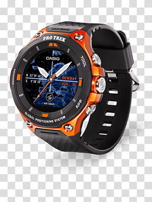 Pro Trek Smartwatch Casio Wear OS, play outside PNG