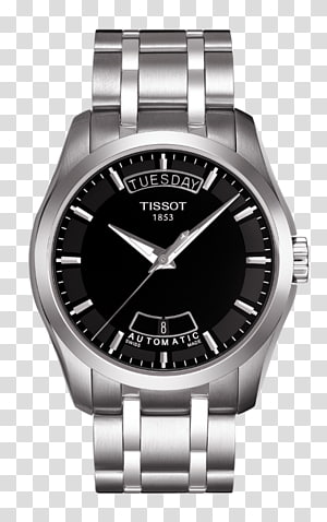 Automatic watch Tissot Mechanical watch Chronograph, watch PNG clipart