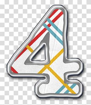 Number Symbol Numerical digit, Number 4 PNG clipart