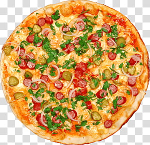 Pizza Italian cuisine Prosciutto Take-out, Pizza PNG clipart