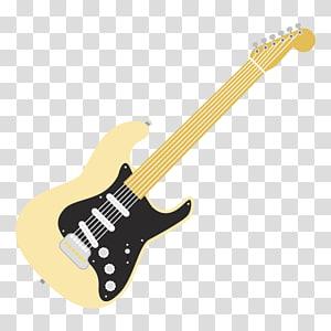cartoon electric guitar PNG