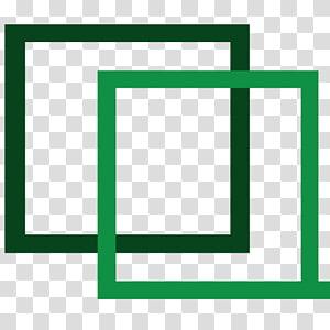 Brand Frames Line Green Pattern, line PNG
