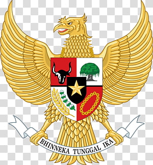 Bhinneka Tunggal Ika logo, National emblem of Indonesia Garuda Emblem of Thailand, symbol PNG clipart
