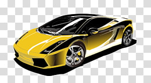 Sports car Lamborghini Gallardo Motors Corporation, Luxury sports car PNG