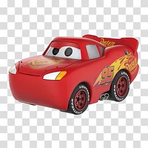 Lightning McQueen Mater Doc Hudson Funko Cars, cars 3 lightning mcqueen PNG clipart