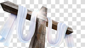 holy cross white ribbons PNG