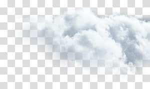 fluffy white clouds PNG