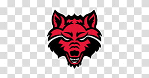 Arkansas State University Arkansas State Red Wolves football Arkansas State Red Wolves baseball Arkansas State Red Wolves men\'s basketball Sport, ​​wolf PNG clipart