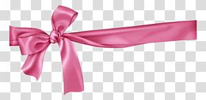 Pink ribbon , ribbon PNG clipart