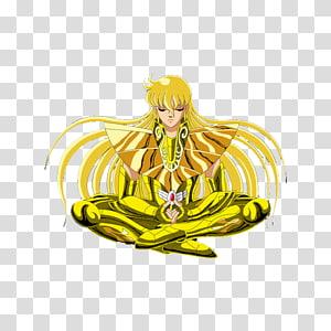 Shaka Leo Aiolia Aries Mu Pegasus Seiya Gemini Saga, shaka PNG