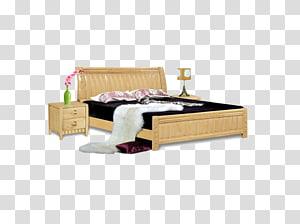 Bed frame Furniture Mattress, bed PNG clipart
