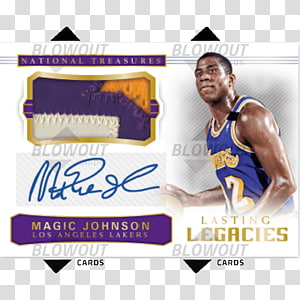 NBA Playoffs Basketball card Autograph, national treasure PNG clipart