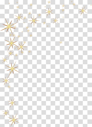 yellow shines stars PNG