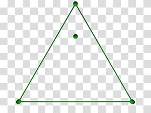 Equilateral triangle Pyramid Polygon Point, triangle PNG