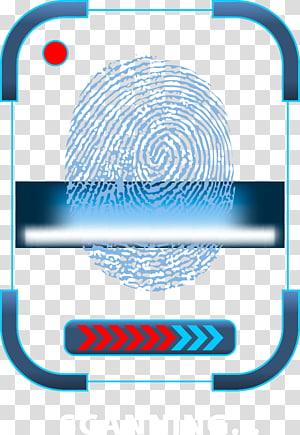 fingerprint scanner logo, Fingerprint Euclidean Icon, fingerprint science and technology PNG