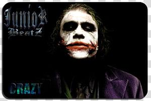 Joker Heath Ledger The Dark Knight High-definition television YouTube, joker PNG clipart