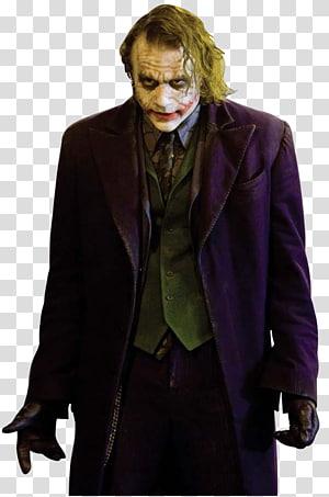 Joker Heath Ledger The Dark Knight Batman YouTube, joker PNG clipart