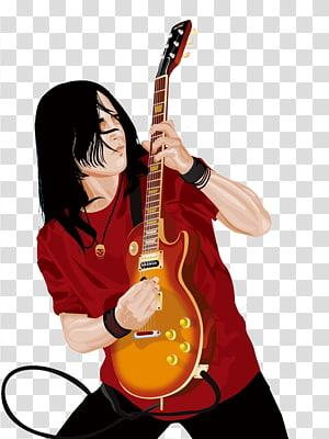 Guitarist, Rock PNG