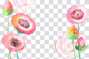 pink flowers illustration, Watercolor: Flowers Watercolor painting, Lotus watercolor background PNG clipart