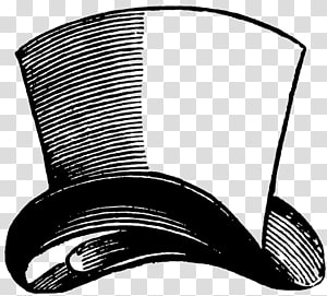 Mad Hatter Top hat White Rabbit , Mad hatter hat PNG