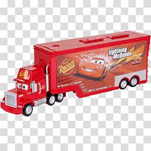 Lightning McQueen Mack Trucks Cars Pixar, Cars PNG clipart